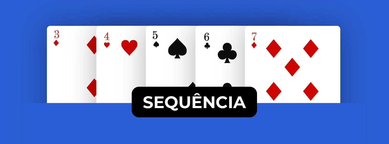 sequência-poker